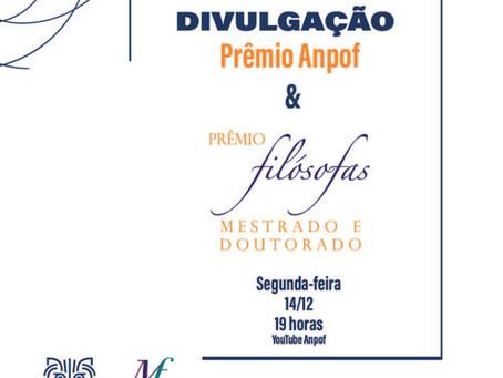 Amanhã: Divulgação do resultado do Prêmio Filósofas!
