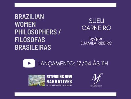 Próximo sábado: Brazilian Women Philosophers / Filósofas Brasileiras