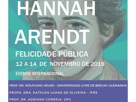 X Ciclo Hannah Arendt