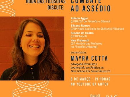 Dia Internacional da Mulher: a Rede e a ANPOF juntas contra o assédio