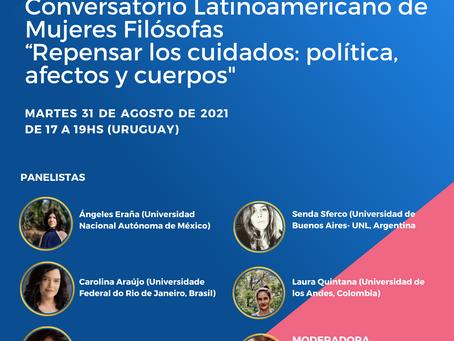 Conversatório Latinoamericano de Mulheres Filósofas: 31 de agosto