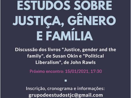 Grupo de Estudos sobre justiça, gênero e família na UFSC/UFMG