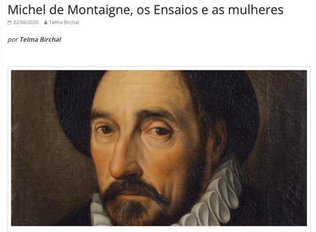 Nem ele acertou o tempo todo... Sobre Montaigne e as mulheres