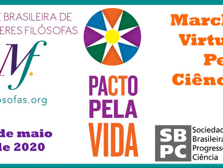 Marcha Virtual pela Ciência: a Rede apoia o Pacto Pela Vida e a SBPC