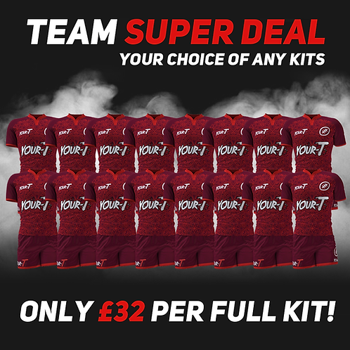 Great value custom rugby kits team bundle