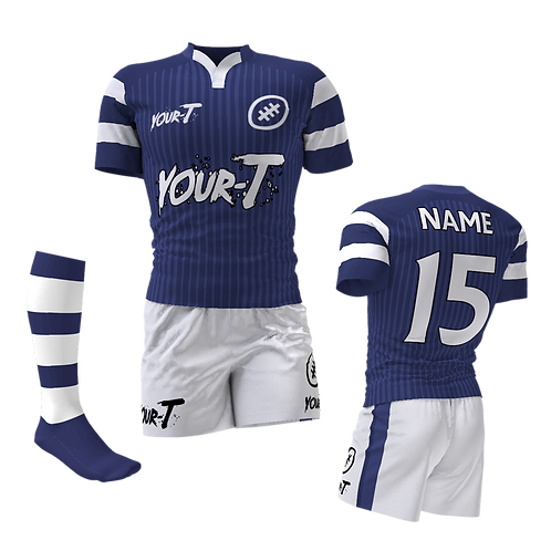 Tackle custom rugby kit