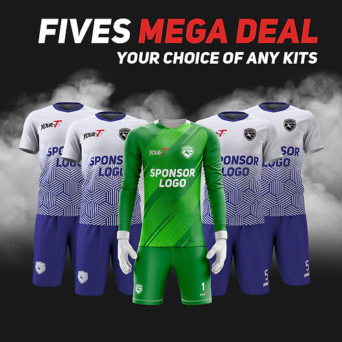 Great value five a side kit bundle football