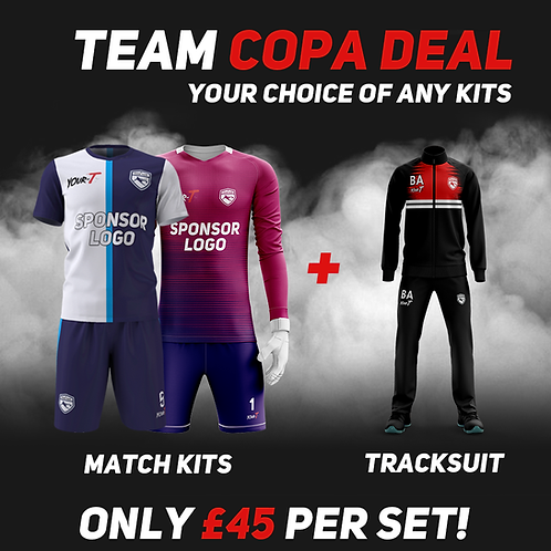 Great value football kit tracksuit bundle