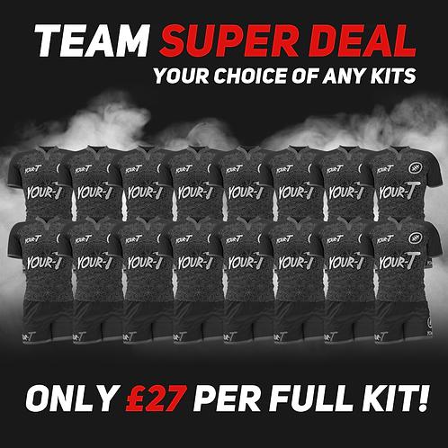 Great value custom rugby kit team bundles