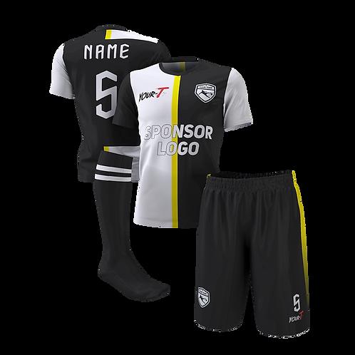Turin custom football kit