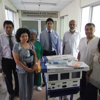 Forced Triad Vessel Sealing Surgical Equipment to Maharagama Cancer Institute (Completed)