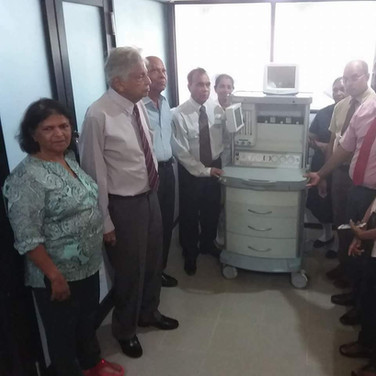 Anaesthetic Machine to Marawila Hospital