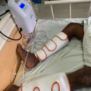 DVT prevention equipments to Embilipitiya hospital completed 2019