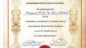 Thank you from Samasthalanka Kidney Patients Association