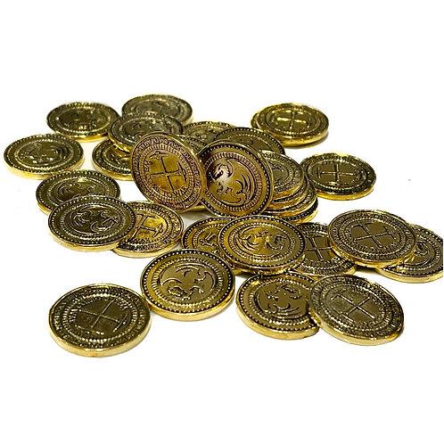 40 Custom Made Metal Coins