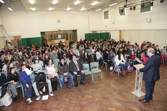 A Finchley Greek School Assembly