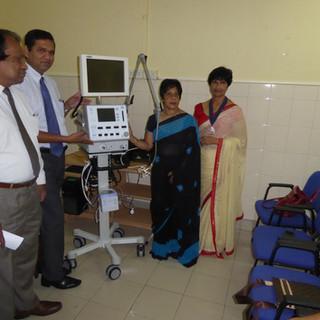 Neonatal Ventilator to Neonatal Unit Castle Street Maternity Hospital