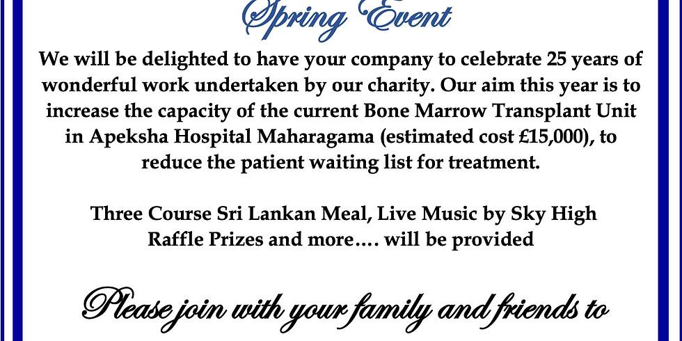 Sri Lankan 25th Anniversary Celebrations
