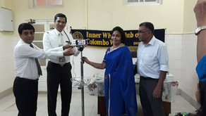 Pulse Oximeters Donated to to Premature baby unit at Castle Street Hospital for Women Colombo.