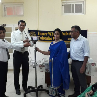 Pulse Oximeter Donation to Premature baby unit at Castle Street Hospital for Women Colombo.