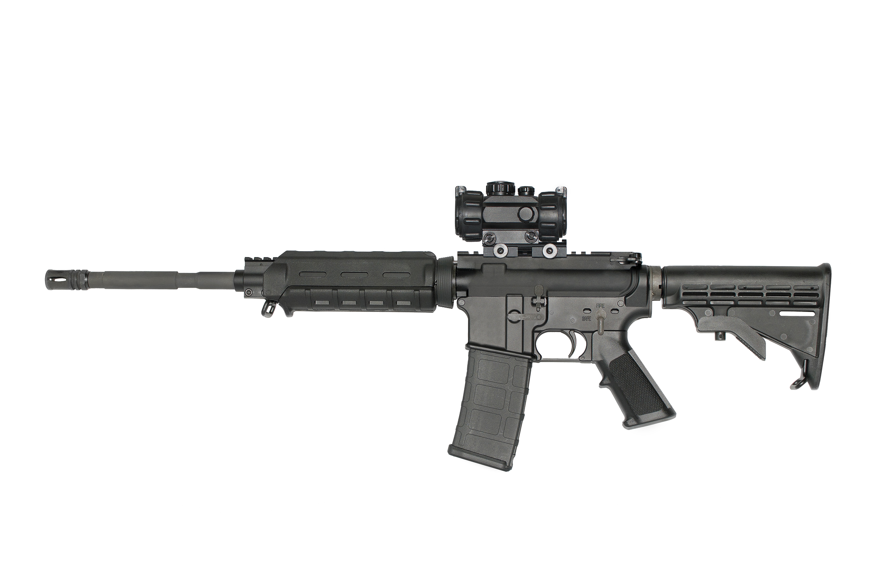 Ar-15 On White With Optic.jpg