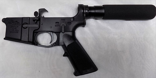 Anderson Lower Receiver w/Parts Kit & Pistol Grip - Assembled
