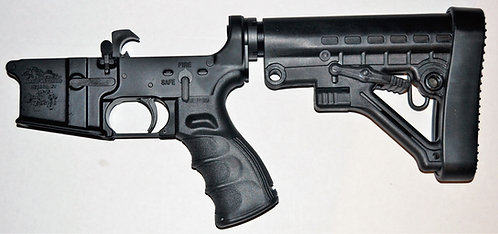 Anderson Lower w/ Parts Kit & Tactical 6 Position Stock