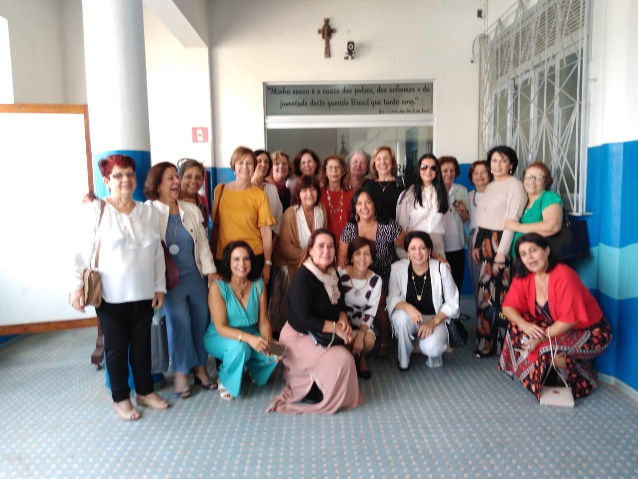 Missa Bodas de Ouro Ex alunas do CREI -