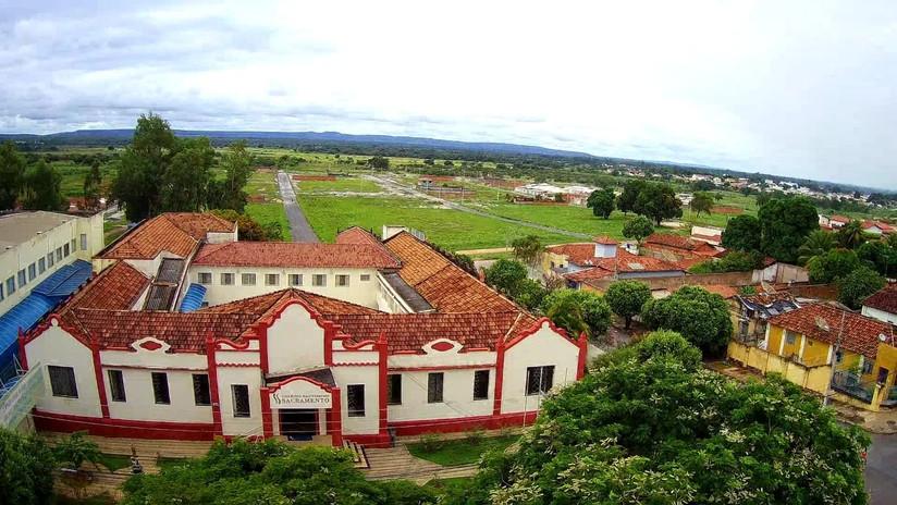 imagem aérea do Colégio