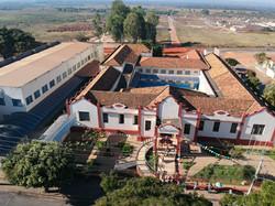 Vista aérea do Colégio