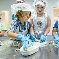 Kinder in der Käsemacherwelt Heidenreichstein im Waldviertel, Ferienwohnung