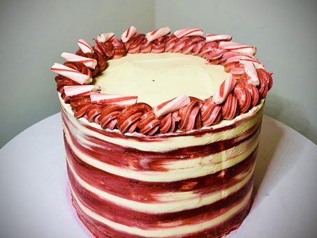 This week's obsession: Peppermint Mousse Cake