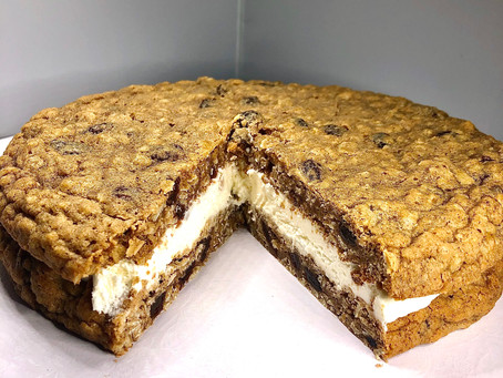 This week's obsession: Giant Oatmeal Cookie Sandwich