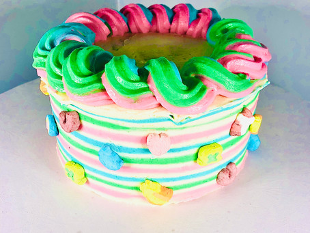 This week's obsession: Lucky Charms Cake