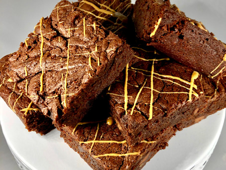 This week's obsession: Peanut Butter Brownies