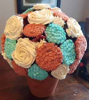 Flower Cupcake Display