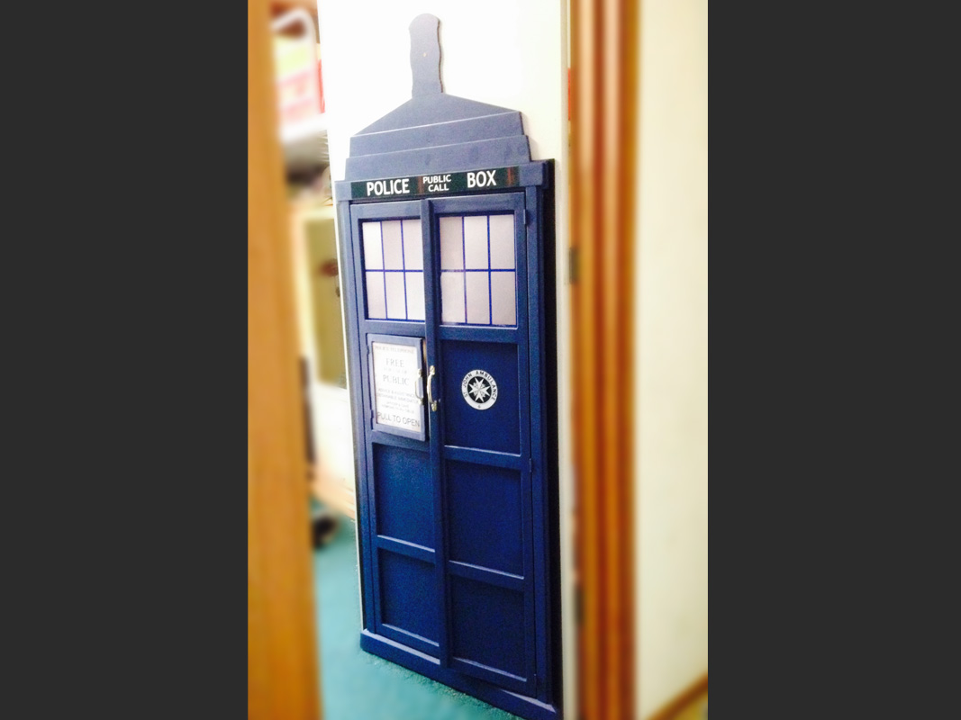 Bedroom door -Tardis