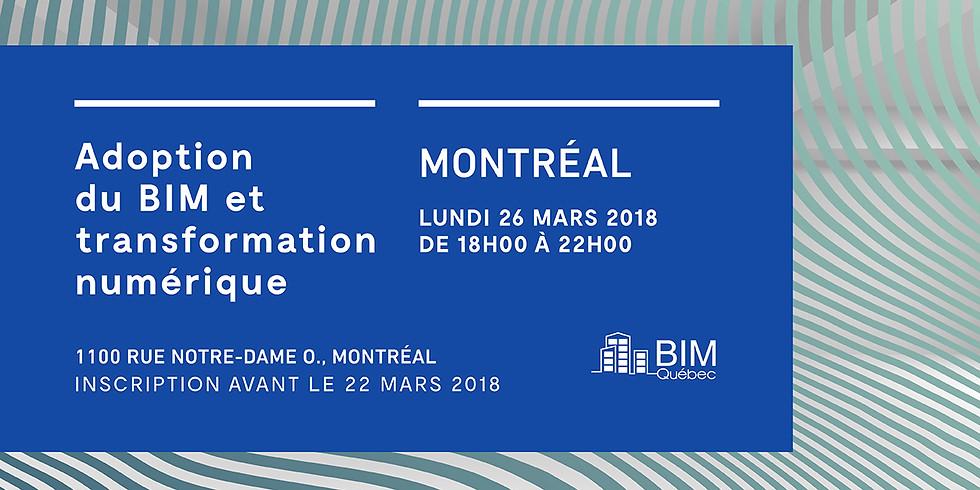 MONTRÉAL - Adoption du BIM et transformation numérique