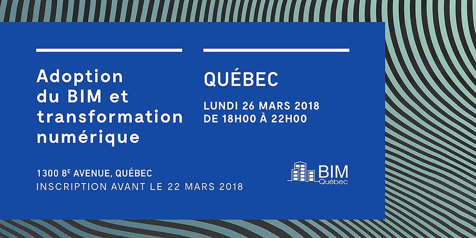 QUÉBEC - Adoption  du BIM et  transformation numérique (1)