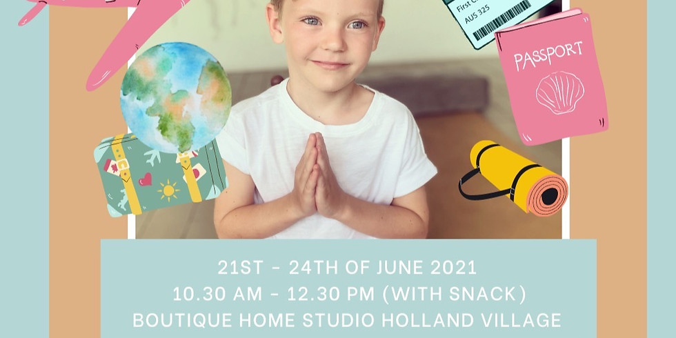 4 Days Kids Yoga and Mindfulness Summer Holiday Camp
