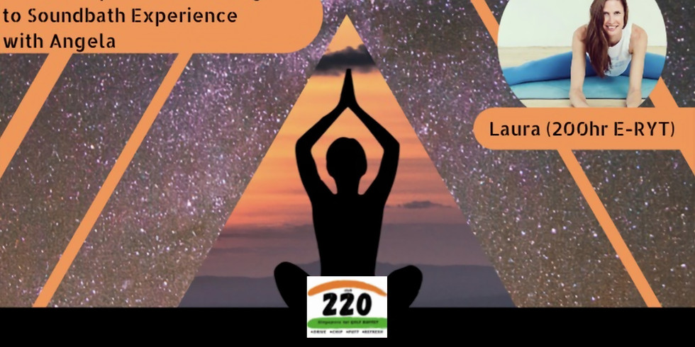 Yoga Under The Stars with Laura and Angela, 22nd of October 2021