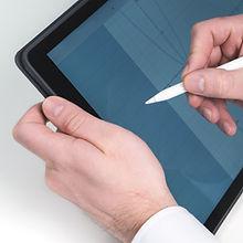 Schetsen in Tablet