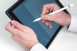 Schizzi in Tablet