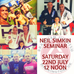 Neil Simkin Seminar Saturday 22nd July!