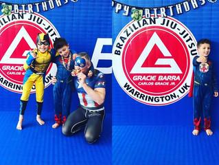 Superheros at Gracie Barra warrington!