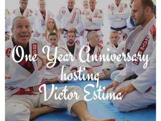 One year Anniversary with Victor Estima!
