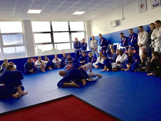 Amazing Seminar with Braulio Estima! And some well deserved promotions!