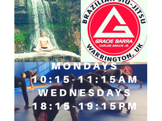 Natural Strength Yoga joining Gracie Barra!