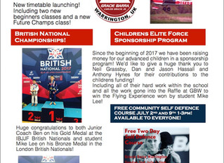 Check out our latest summer newsletter from Gracie Barra Warrington!