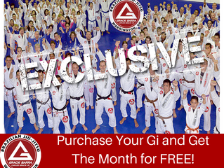Purchase Your Uniform and Get a Month FREE!